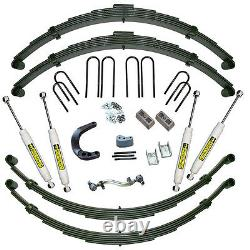 12 GM Suspension Lift Kit (with Rear Springs) 1973-1991 1/2 Ton Solid Axle Ve