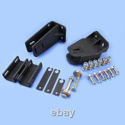 1987-1996 Ford F250/F350 4WD Axle Pivot Drop With Camber For 3.5-4 Leveling Kit