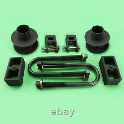 2005-2007 F250 F350 4 Axle 4WD With Auxiliary Front 3.5 Rear 2 Lift Kit