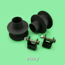 2008-2010 F250 F350 4 Axle 4WD WithAuxiliary Front 3.5 Rear 2 Lift Kit