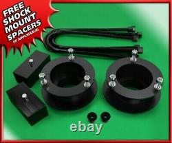 3.5 F St Spacers + 2 R Blocks Lift Kit For 03-13 Dodge Ram 2500 4WD 3.5 Axle