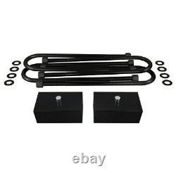 3 Front + 2 Rear Lift Kit For 2003-2013 Ram 2500/3500 2WD 9/16th Pins 3 Axle