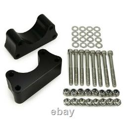 3 Front 3 Rear Lift Kit FOR 86-98 Toyota IFS Pickup T100 2WD Spring Over Axle