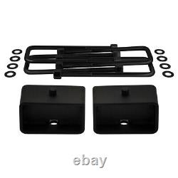 3 Front + Rear Lift Kit with Axle Shims For 2005-2020 Nissan Frontier 2WD 4WD