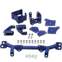 6 inch Drop Axle Lift Kit for EZGO TXT Golf Cart Electric 1996 Front Rear