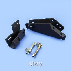 80-96 Bronco F150 4WD Axle Pivot Drop With Camber For 2-3.5 Lift Kit