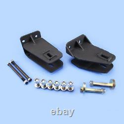 87-96 F250 4WD Axle Pivot Drop With Camber For 2-2.5 Lift Kit
