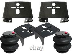 B Rear Weld On Air Ride Mounting Brackets with2600 Air Bag Suspension Rear Mount
