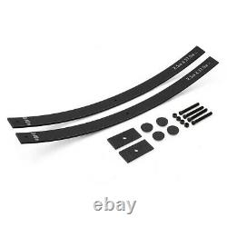 Fits 73-87 Chevy Pickup 2 Rear Lift Kit Long Add-a-Leaf Straight Axle Shims