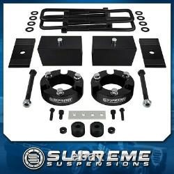 Fits 99-06 Toyota Tundra 3 Front + 3 Rear Suspension Lift Kit with Block Shims