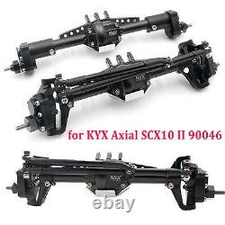 For Axial SCX10 II 90046 KYX CNC Scale Front & Rear High Lift Portal Axle Part