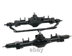 KYX CNC Machined High Lift Front & Rear Portal Axle set for Axial SCX10