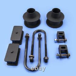 Lift Kit Front 3 Rear 2.5 F250 F350 08-10 4 Axle 4WD WithO Auxiliary