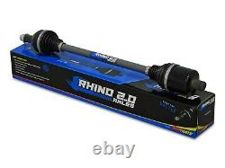 SuperATV Rhino 2.0 Heavy Duty Can-Am Commander REAR Axle For Use with 6 Lift Kit
