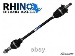 SuperATV Rhino Brand Axle for Can-Am Maverick with +6 Lift Kit REAR