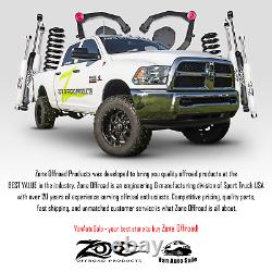 Zone 5 Lift Kit for Dodge Ram 03-07 2500/3500/1500 MCab 3-7/8Rear Axle