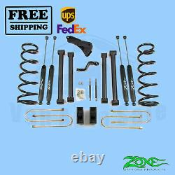 Zone 5 Lift Kit for Dodge Ram 03-07 2500/3500/1500 MCab 4-1/8Rear Axle