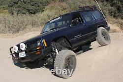 Zone Offroad 2 Suspension Lift Kit for 84-01 Jeep Cherokee XJ with Chrysler 8.25